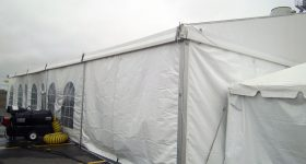60′ x 66′ losberger clearspan structure