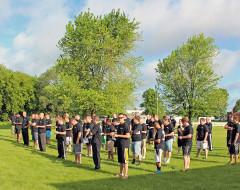 Members of the McGrath Auto boot camp in June 2014.