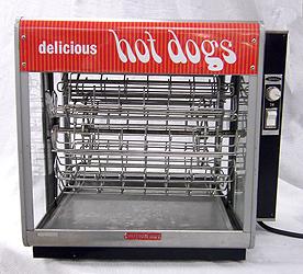 Hot Dog Rotisserie Machine