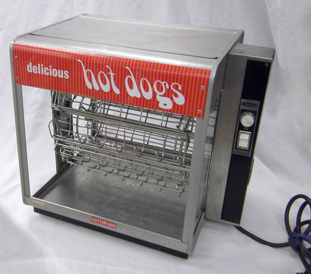Stainless Steel Hot Dog Rotisserie Machine Rental In Iowa