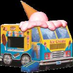 Ice Cream Truck bounce house rental in Iowa City cedar rapids