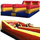 Inflatable Bungee Run challenge