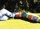 Inflatable Kiddie Caterpillar