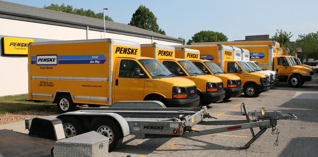 Penske Local Round Trip Moving Truck Rental in Iowa City IA