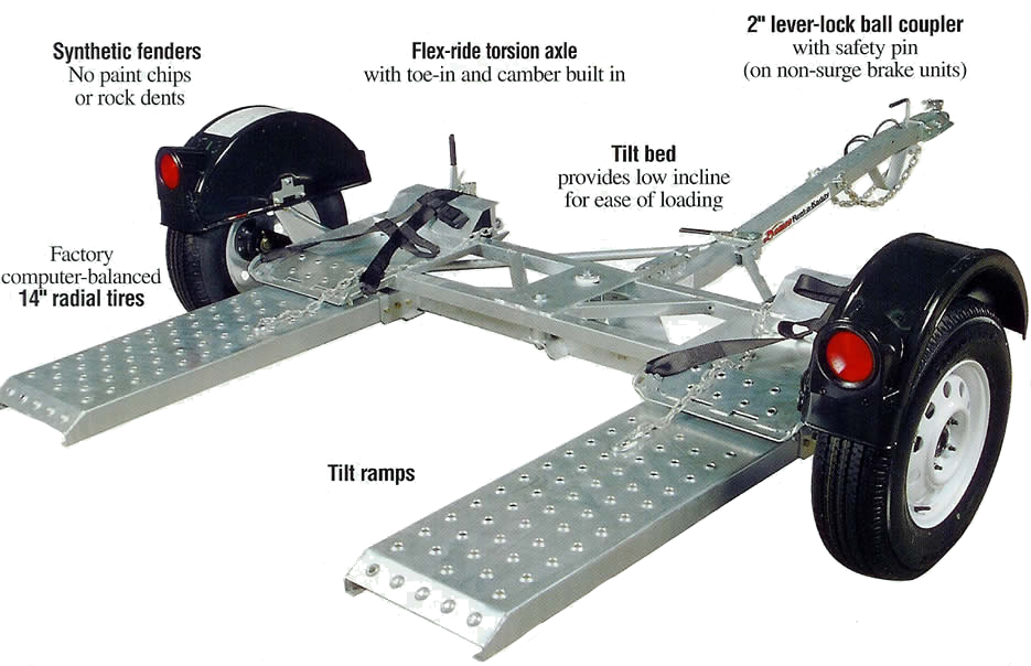 Car Tow/Vehicle Dolly Rental in Iowa City, Cedar Rapids, IA