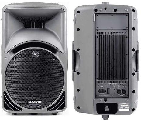 Mackie speakers (model srm450v2)