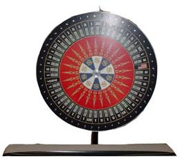 """Big Ten Rental's """"Money Wheel"""" is great for Casino night!"""