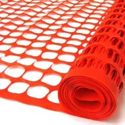 Rent our 100 foot roll of orange barrier fence.