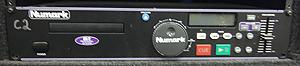 Pitch Control Numark CD player