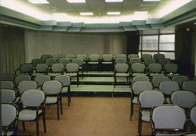 Rent our portable seated band and choral riser system. Great for audiences as well.