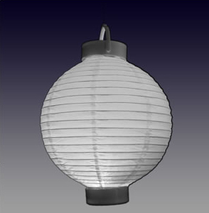 Rent our round Japanese paper lanterns for your special event.