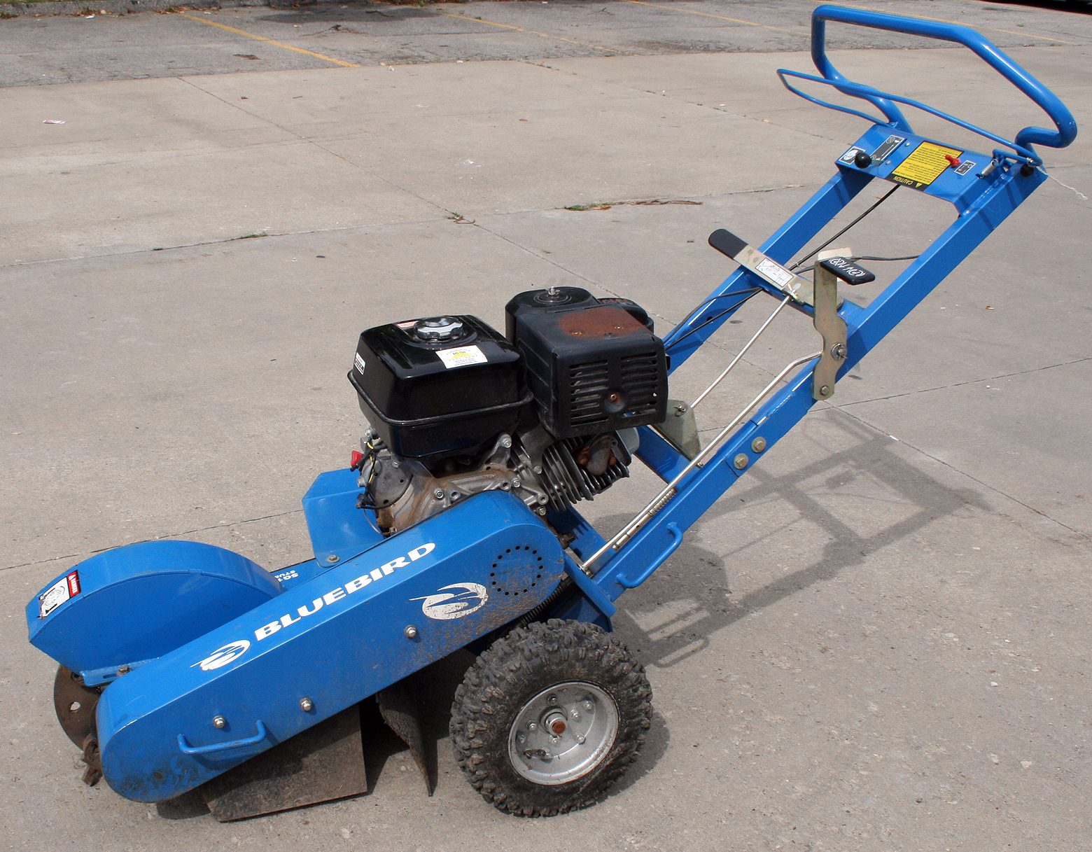 Stump Grinder Rental Iowa City Cr Ia 13hp Honda Gas Engine