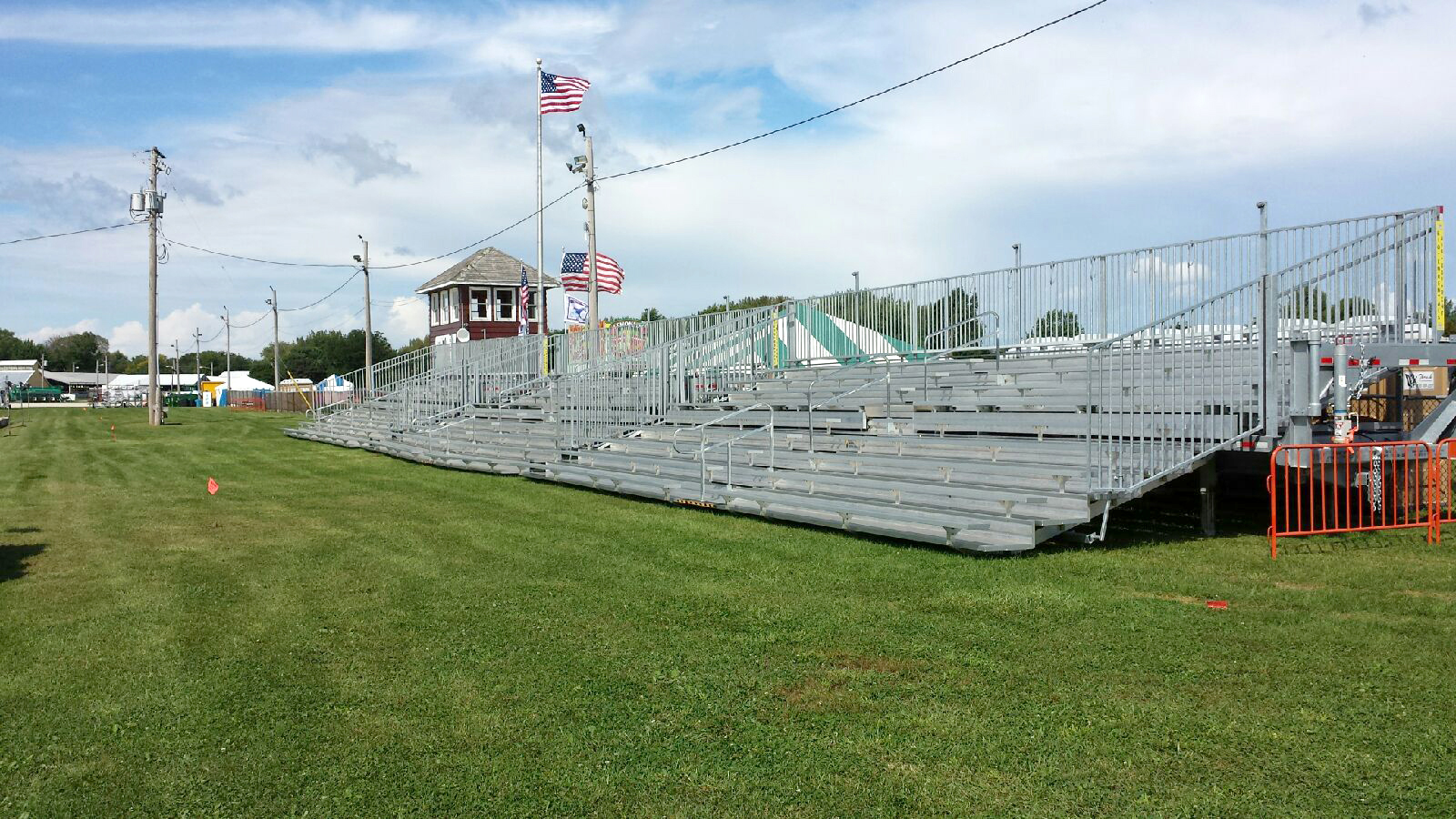 bleacher tent party rental ames iowa estimated delivery charge