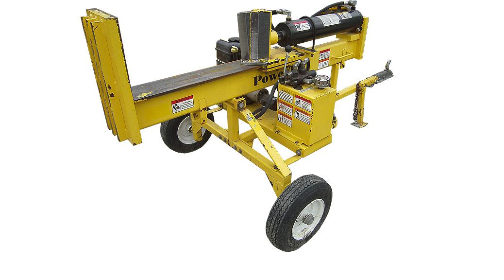 Towable hydraulic log splitter rental Iowa