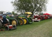 Tractors as far as the eye can see