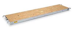 "Rent our tuff n lite scaffolding walk board. It's also known as ""Catwalk""."