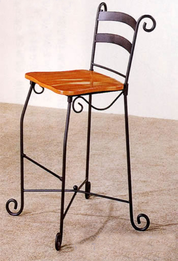 Wrought Iron Bar Stool Iowa City Cedar Rapids Party