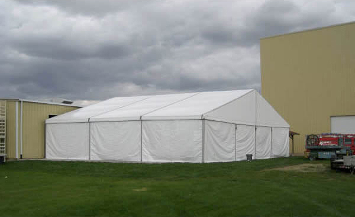 60ft X 49ft Clearspan Event Structure Rental In Iowa