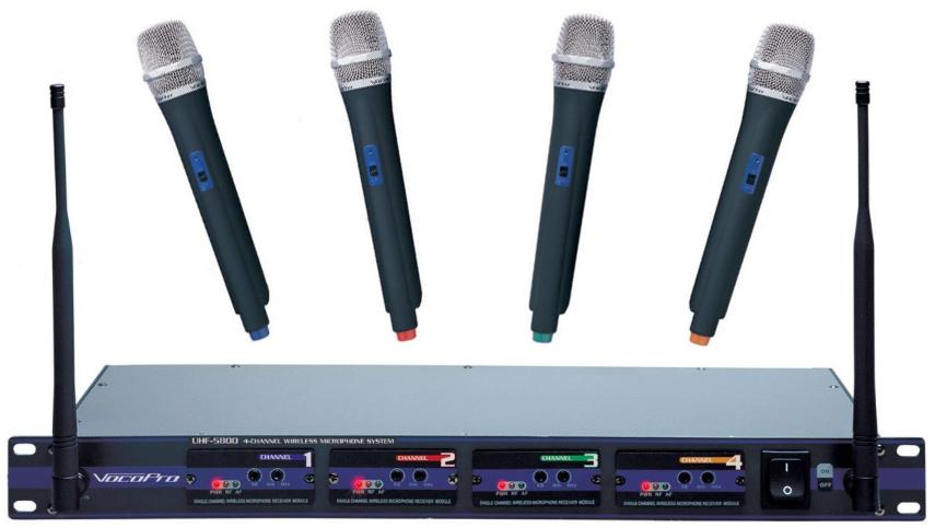 Wireless mic system rental