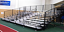 10 row 32 feet expand breakdown bleachers