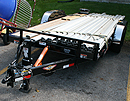 14000 lbs tilt flatbed trailer rental