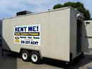 18' Trailerable commercial walk-in cooler/refrigerator.