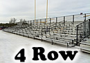 4 row expandable bleachers