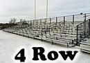 4 row expandable bleachers