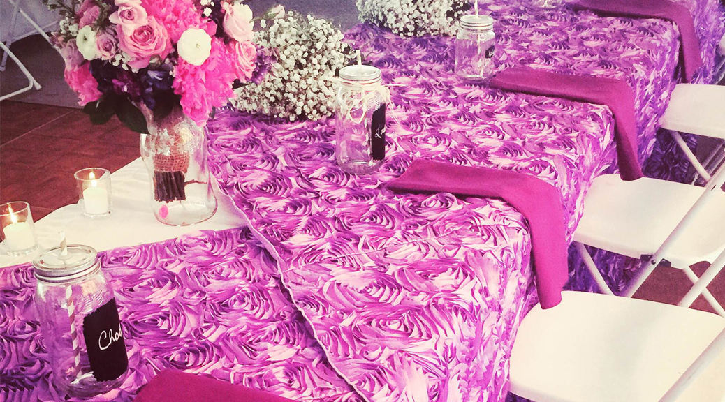Head wedding table specialty linens