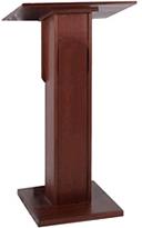 elite lectern mahogany