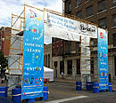 Festival entrance scaffolding rental