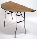 Half-round Table Rental