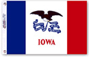 State of Iowa Wall Flag