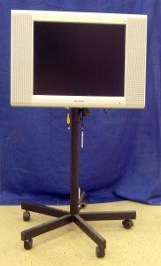 Karaoke display monitor.