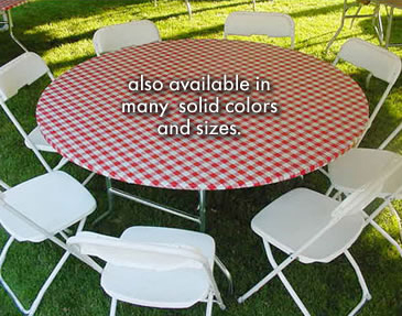 Buy Disposable Round Banquet Skirt Table Covers Linens