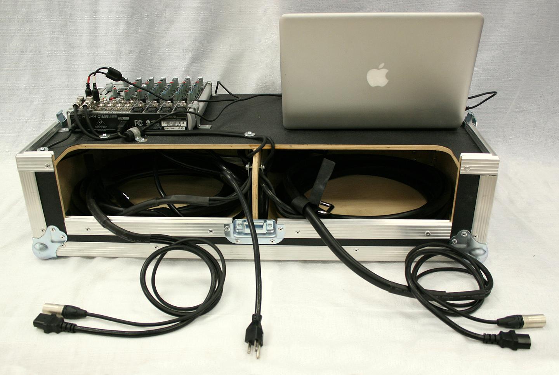 4000 watt pro stack sound system rental iowa audio equipment. Black Bedroom Furniture Sets. Home Design Ideas