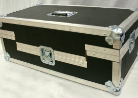 "Audio hookups, sound board and single power plug comes in our custom made inclusive ""roadie case""."