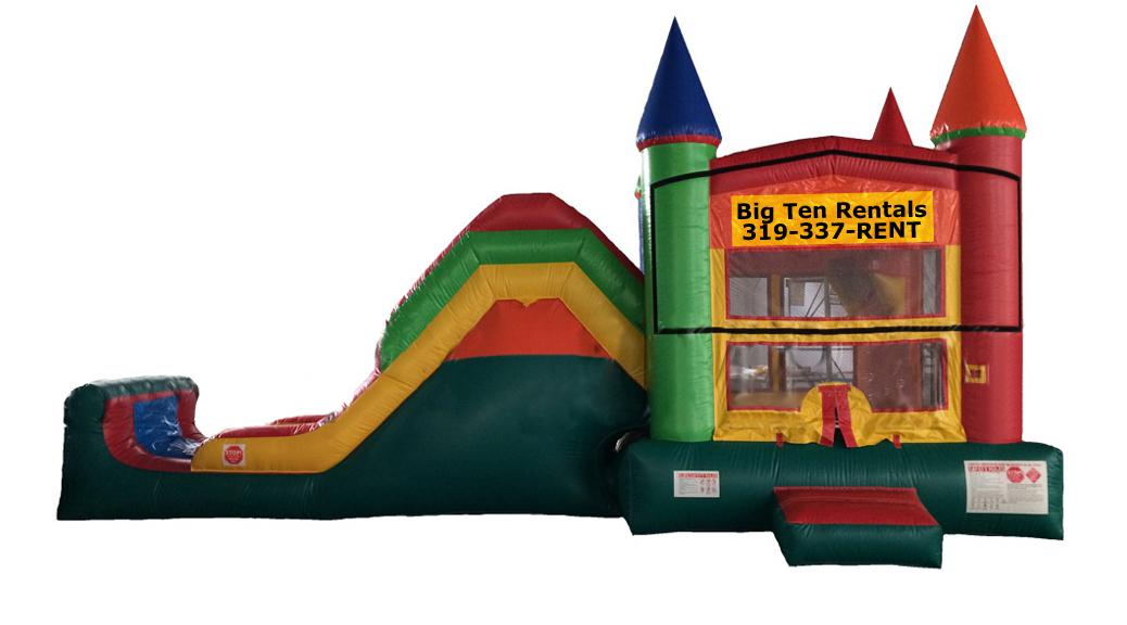 Jump Climb And Slide Bounce House Rental Iowa City