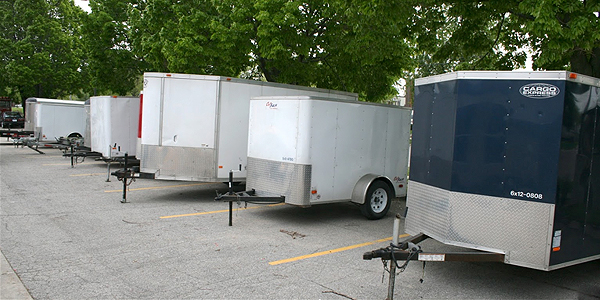 Enclosed utility trailers to fit your moving needs.