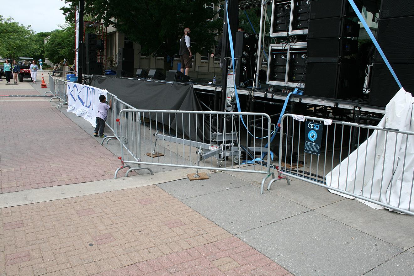 Bike Rack Barriers Iowa City Cedar Rapids Party And