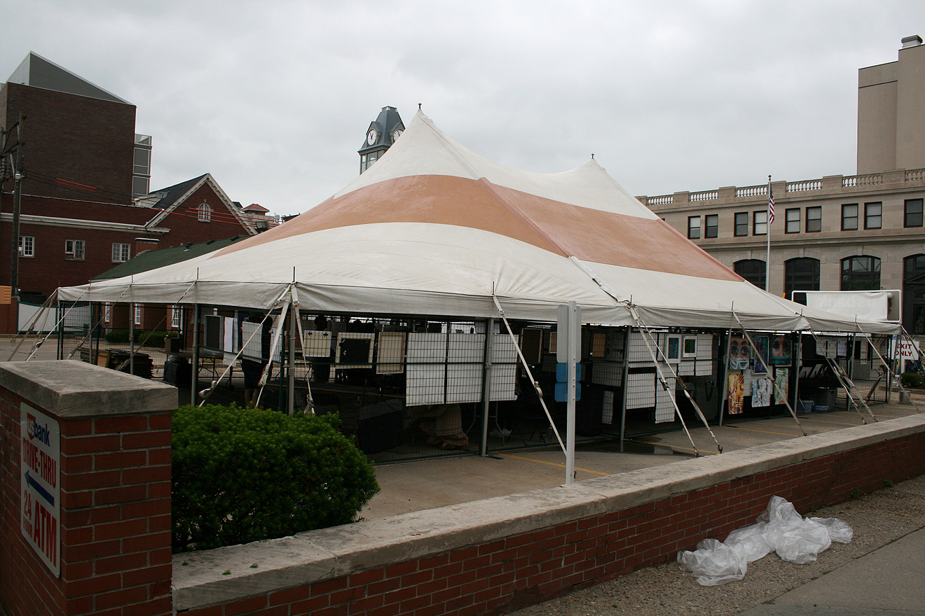 40 39 x 60 39 rope and pole event tent for sale iowa city for Craft stores des moines
