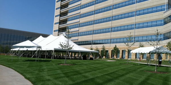 Rope and pole event tents. See all of our tents available.