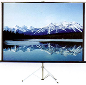 100 inch projection screen with tripod