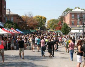2014 Northside Oktoberfest entrance area.