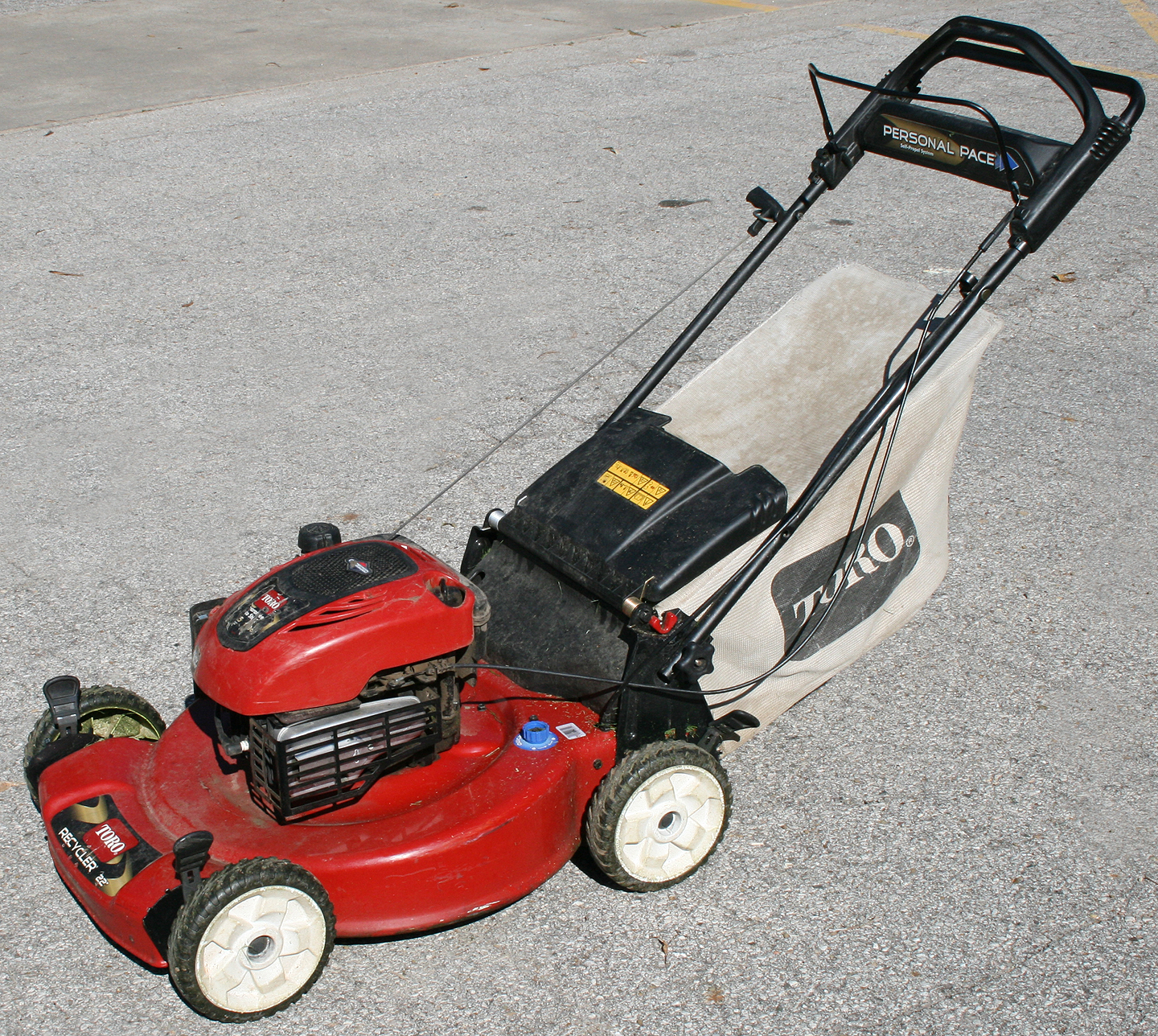 Toro Lawn Mower : Toro personal pace mower parts loadere