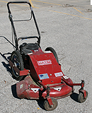 "24"" brush cutter bush hog rental"