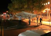 Human frame tent jacks
