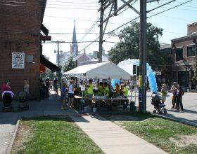 Tent for beer venders
