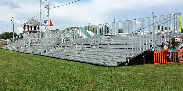 Bleachers for rent