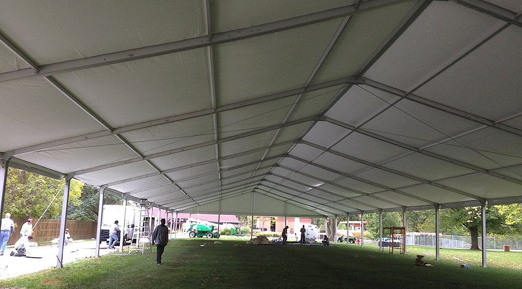 Event Structure Set Up For Niabi Zoo In Coal Valley Illinois